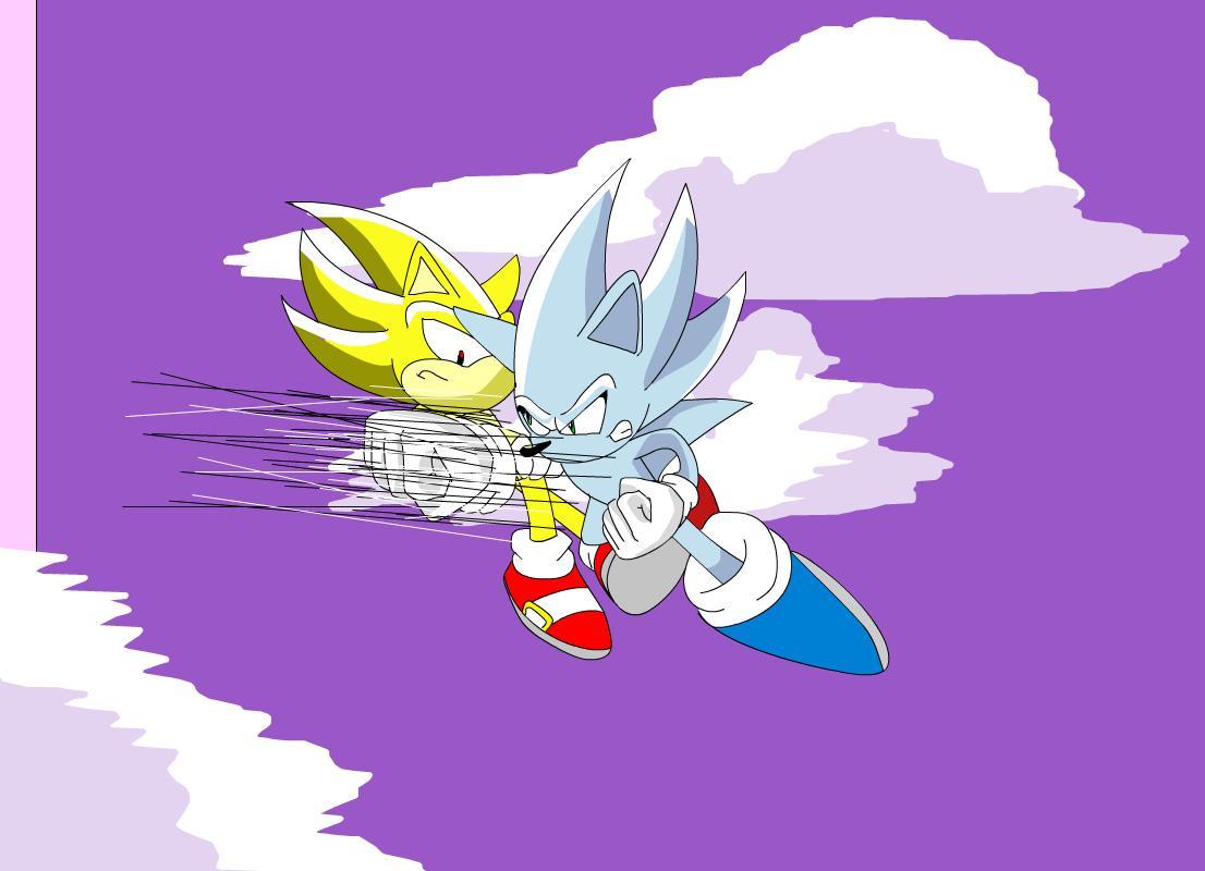 Nazo vs Super sonic
